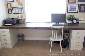 metal desk with file cabinet amazing desk file cabinet over the big moon diy file cabinet desk in