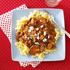 comfort food stew recipes taste of home