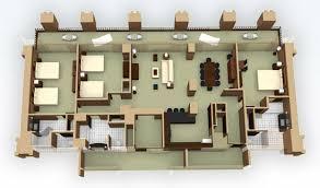 grand californian suites floor plan breakdown of disney vacation club rooms on disney pix