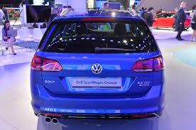 volkswagen caribe new vw golf sportwagen concept nordschleife autoblahg