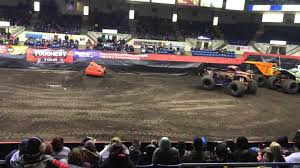 racing monster truck track scariest s trend titan oakland coliseum youtube titan
