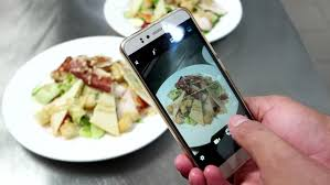cuisine mobile the on the smartphone photography food seafood cooking sushi