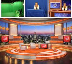 tv studio desk virtual sets and green screen studios for chroma keying