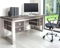 Office Desk Uk Bespoke Contemporary Furniture Large Furniture Wood Zinc