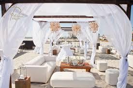 White Shell Chandelier Summer Seaside Soiree All White Custom Event Productions