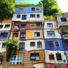 Artist House by Hundertwasserhaus Is An Apartment House In Vienna Austria Built