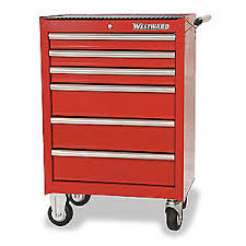 Rolling Tool Cabinets Westward Rolling Tool Cabinet 27 In W 6 Drawer 2czx4 2czx4