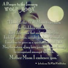 wolf moon january 5th prayer chant