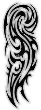 tribal arm tattoo by sbink tattoos pinterest tribal arm
