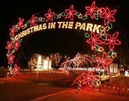 christmas light park near me free yukon s christmas in the park