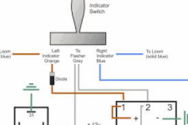 wiring diagram for hazard light switch for motorcycle wiring diagram