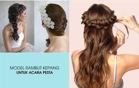 model rambut sanggul simple 18 model rambut pesta yang simple fashion modern 2018