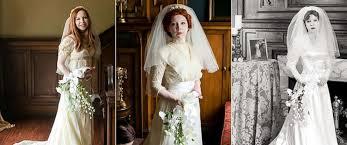 wedding dresses in wears great grandmother s 1910 wedding dress in special