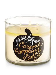 Home Interiors Candles Baked Apple Pie Caramel Pumpkin Swirl 3 Wick Candle Bath U0026 Body Works