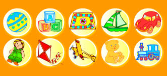 toys vocabulary for kids learning english printable resources