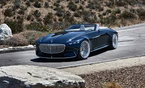 bentley maybach vision mercedes maybach 6 cabriolet photos and info news car