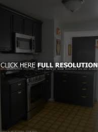 black cabinet kitchen kitchen decoration