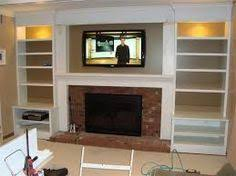 Bookshelf Around Fireplace Built In Bookshelves Plans Around Fireplace Woodworktips