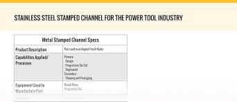 Punch Home Design Power Tools Fabricated Channel American Industrial
