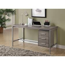 monarch specialties dark taupe desk i 7345 the home depot