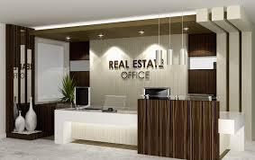Contemporary Office Interior Design Ideas Real Estate Reception Desk Real Estate Office Office Areas