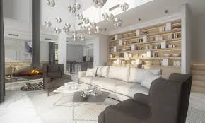 gray color schemes living room gorgeous contemporary villa in montenegro part 1 home interior