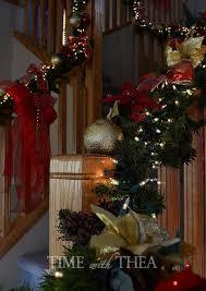Christmas Decorations Banister Baniste Decor Ideas For Christmas Hometalk