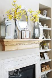 Design For Fireplace Mantle Decor Ideas My Summer Mantel Summer Mantel Mantels Decor And Mantels