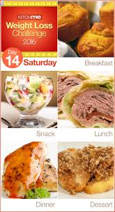delicious two week weight loss challenge for weight watchers