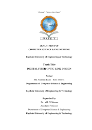 example of acknowledgement of thesis final thesis paper digital optical fiber link design