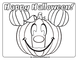 Printable Halloween Pumpkins by Halloween Pages To Color Halloween Coloring Pages Parade Mouse