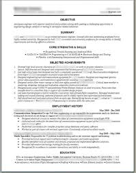 resume sample for a job in computer manufacturing drafter