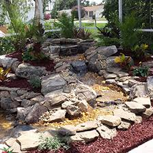 Aquascape Water Features Central Florida Water Garden Installation Ponds Pondless