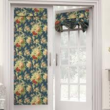 Tab Top Sheer Curtain Panels Waverly Sanctuary Rose Nature Floral Semi Sheer Tab Top Single