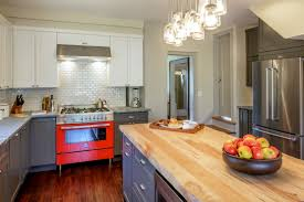 farmhouse kitchen with a dash of red dan and john life