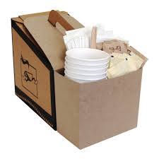 creative ideas for kraft paper packaging coffee take out container