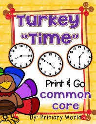 primary world time for thanksgiving differentiated print and go