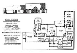 4 bedroom 1 story house plans 4 bedroom 1 story 3601 square