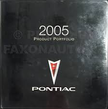 2005 pontiac grand prix repair shop manual original 3 volume set