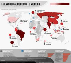 World Map According To America by The World According To Murder Neo Mam Infographics Pinterest