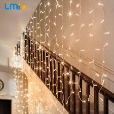 Led Light Curtains Lmid 2m X 0 6m Home Outdoor Holiday Christmas Decorative Wedding