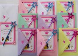 Barbie Themed Invitation Card Belle Beauty Princess And Beast Invitations Jingvitations