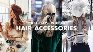 must have hair must have winter hair accessories how to style them luxy hair