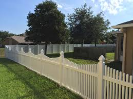 vinyl fence secure fence and rail