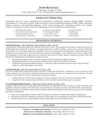 Sample Resume For First Year College Student Principal Resume Resume For Your Job Application