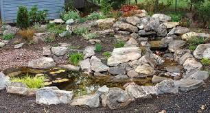 rocks in a garden