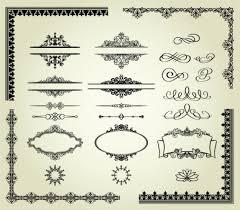 frames and ornaments classic vector set ornament pixempire