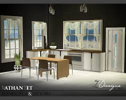 Sims 4 Furniture Sets Nathan Set Windows And Doors New Meshes Sims 4 Designs