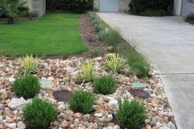 garden rocks ideas front yard landscaping ideas with no grass rock oak deer