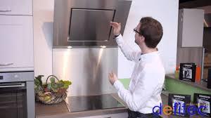 hottes aspirantes cuisine electros et cuisines defitec vous présente les hottes